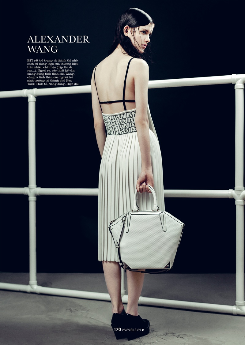 spring collections elle13 Looks to Love: Isabelle Nicolay in the Spring Collections for Elle Vietnam