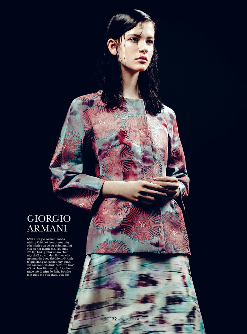 spring collections elle15 Looks to Love: Isabelle Nicolay in the Spring Collections for Elle Vietnam