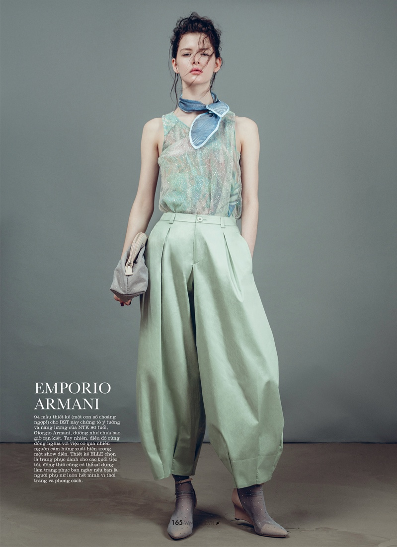 spring collections elle8 Looks to Love: Isabelle Nicolay in the Spring Collections for Elle Vietnam