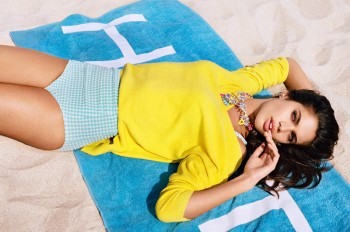 Sara Sampaio, Cora Keegan Star in River Island Spring 2014 Campaign