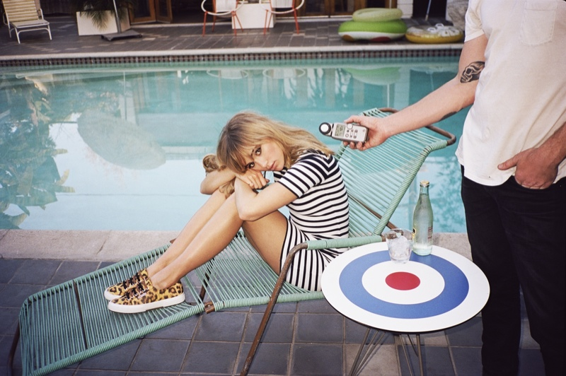 suki waterhouse superga spring 2014 campaign photos2 Suki Waterhouse Kicks Up Her Heels for Superga Spring 2014 Campaign