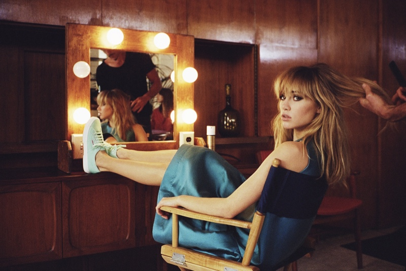 suki waterhouse superga spring 2014 campaign photos3 Suki Waterhouse Kicks Up Her Heels for Superga Spring 2014 Campaign