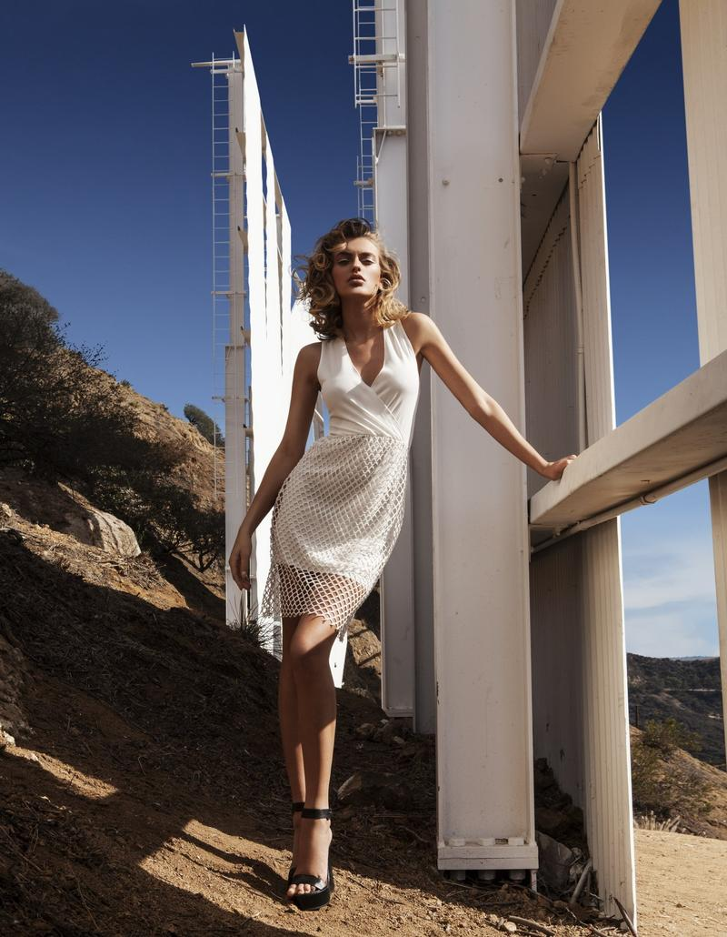 supertrash spring 2014 campaign bregje heinen11 Bregje Heinen is LA Glam for SuperTrash Spring 2014 Ads