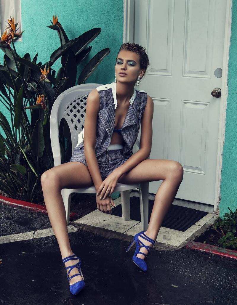 supertrash spring 2014 campaign bregje heinen12 Bregje Heinen is LA Glam for SuperTrash Spring 2014 Ads