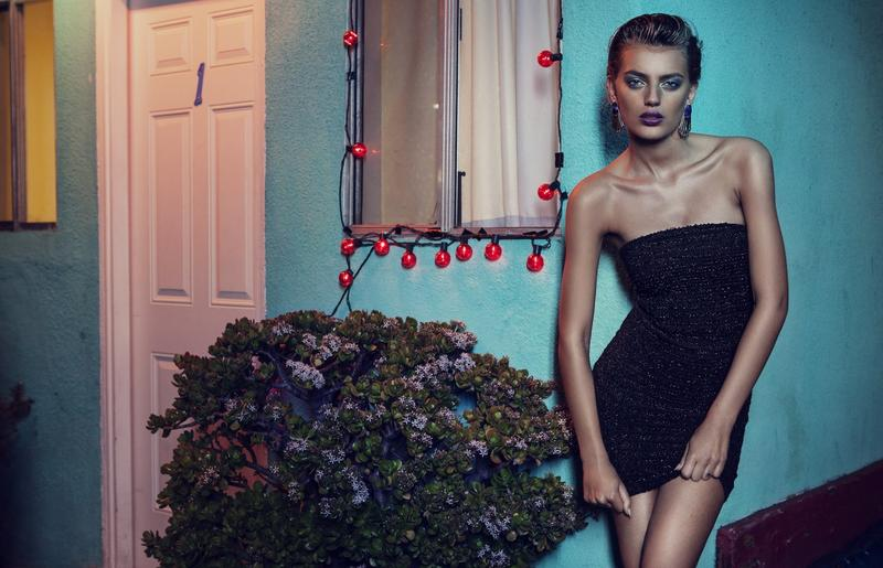 supertrash spring 2014 campaign bregje heinen3 Bregje Heinen is LA Glam for SuperTrash Spring 2014 Ads
