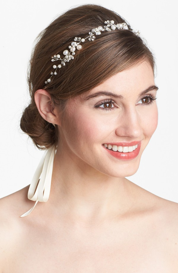 tasha pear crystal head wrap 7 Amazing Bridal Veils & Hair Accessories for Wedding Glamour