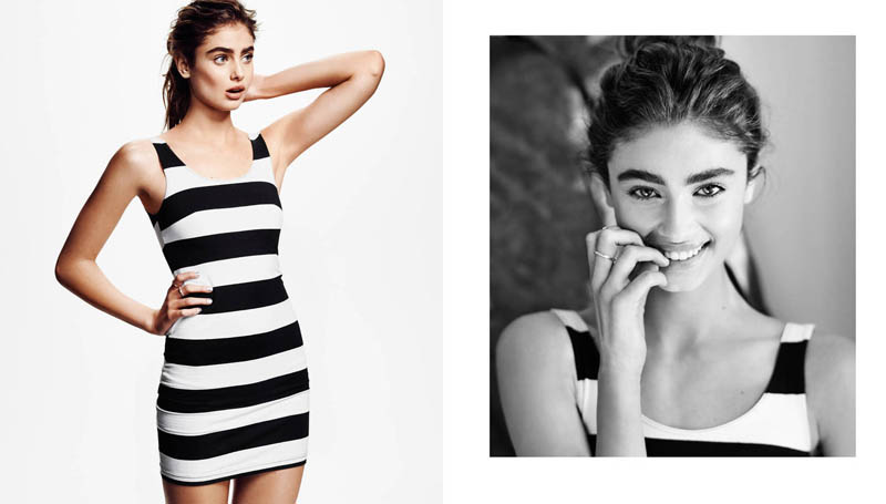 taylor marie hill 20142 Taylor Hill Models Loungewear for H&M Shoot by Hasse Nielsen