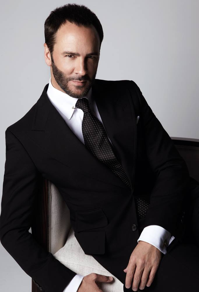 Tom Ford Portrait. Image: Designer's Facebook.