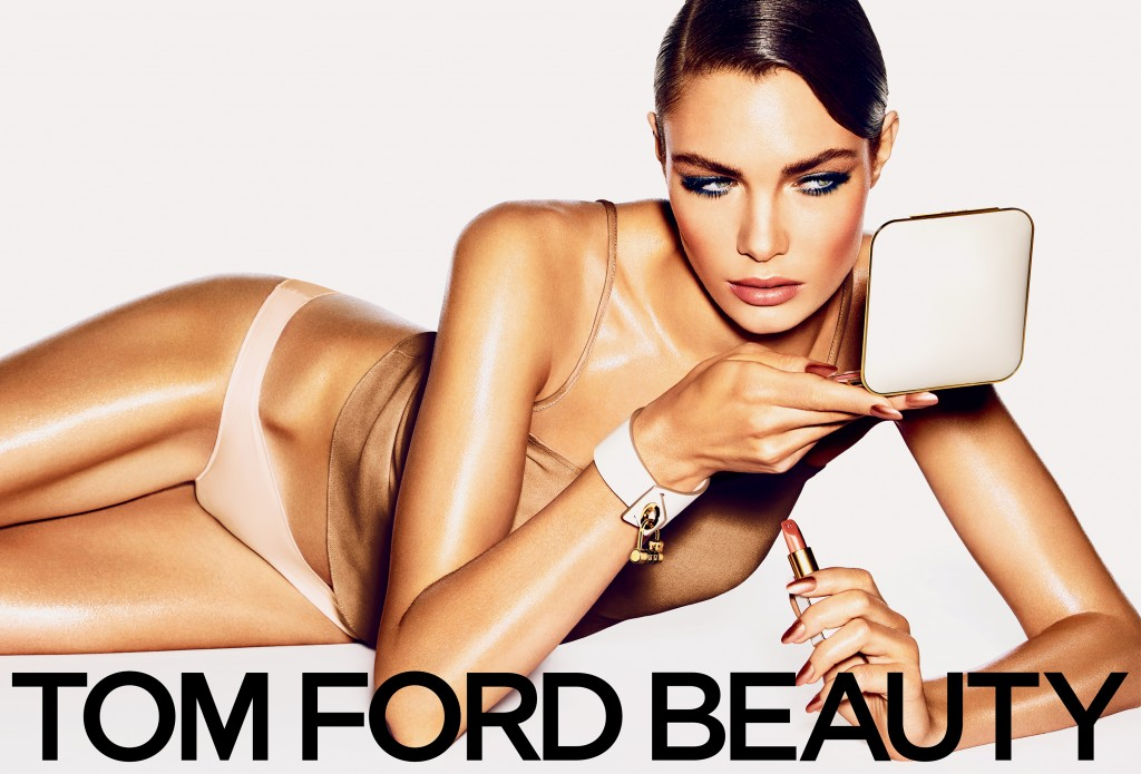 Tom Ford Summer Beauty Ad with Model Alexandra Martynova