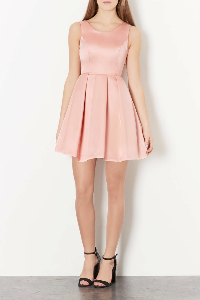 topshop pink dress 6 Prom Dress Styles to Dance the Night Away In