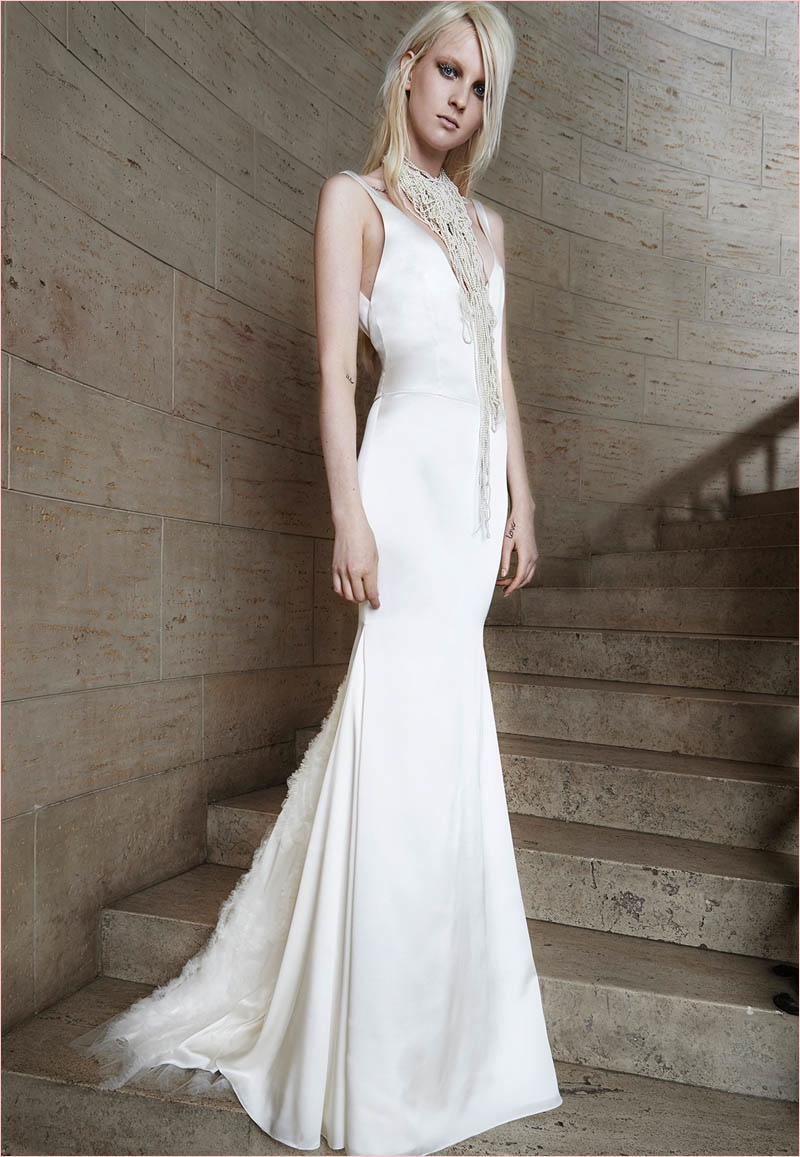 See Vera Wang's Ethereal Spring 2015 Bridal Collection