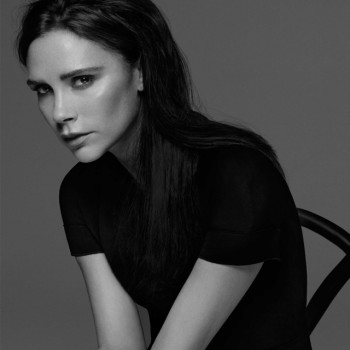 Photo: Victoria Beckham. Courtesy of designer's Facebook.