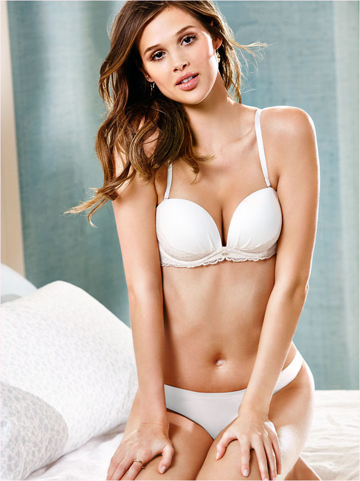 victorias secret bridal 2014 12 Bridal Babes! Lindsay Ellingson & Anais Pouliot Pose for Victorias Secret