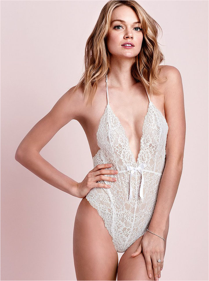 victorias secret bridal 2014 13 Bridal Babes! Lindsay Ellingson & Anais Pouliot Pose for Victorias Secret