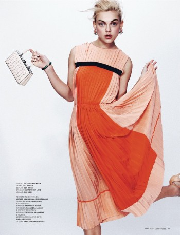 Daring Spring: Viktoriya Sasonkina Stars in L'Officiel Ukraine May Cover Story