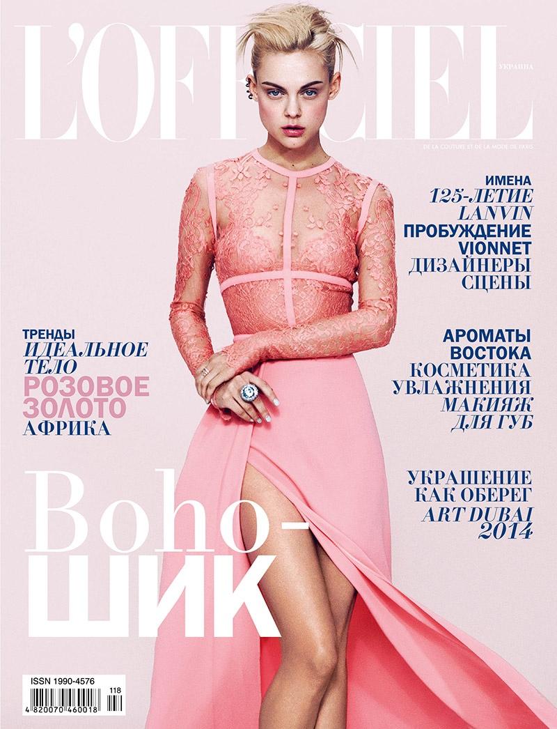 viktoriya sasokina photos 12 Daring Spring: Viktoriya Sasonkina Stars in LOfficiel Ukraine May Cover Story