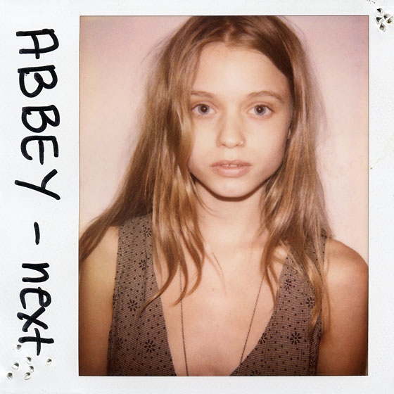 Abbey Lee Kershaw Polaroid TBT | Models' First Polaroids with Kate Upton, Karlie Kloss, Miranda Kerr + More