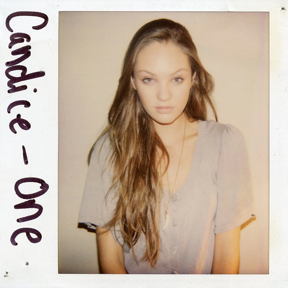 Candice Swanepoel was once brunette