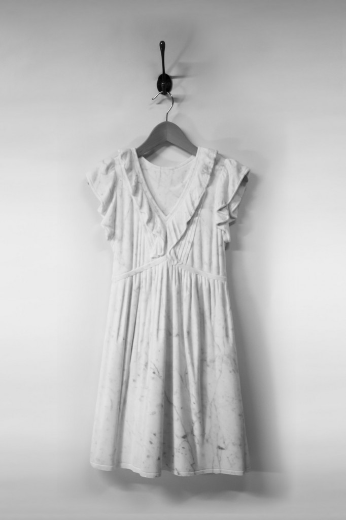 Carrie dress marble sculpture alasdair thomson Sculptor Makes Dresses Out of Marble—See the Looks!