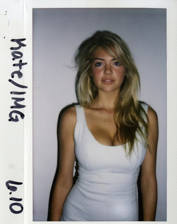 Kate Upton 2010 polaorid TBT | Models' First Polaroids with Kate Upton, Karlie Kloss, Miranda Kerr + More