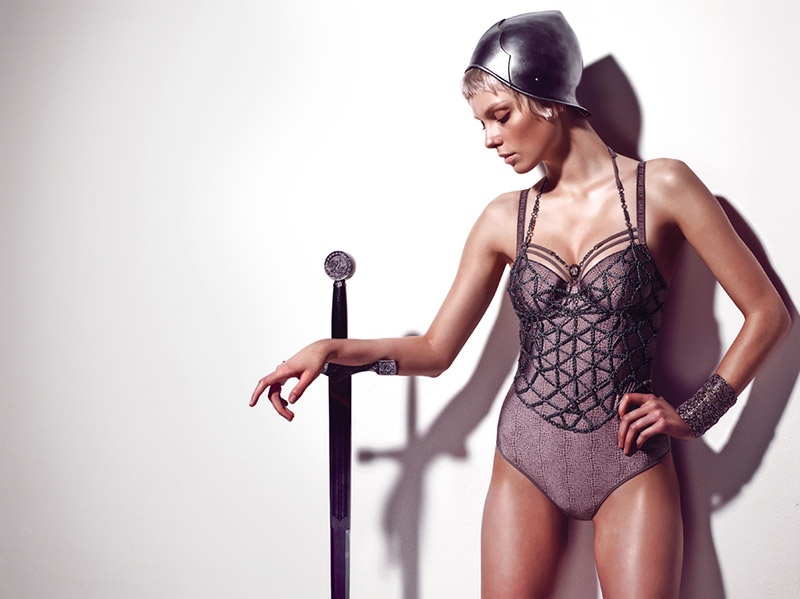 Marlies Dekkers Couture Lingerie Joan Arc1 Marlies Dekkers Launches Joan of Arc Influenced Couture Line of Lingerie