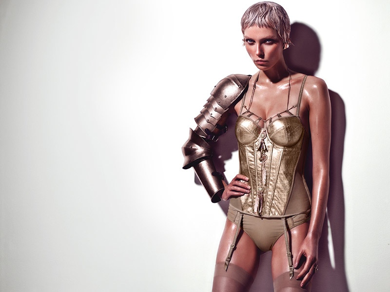 Marlies Dekkers Couture Lingerie Joan Arc2 Marlies Dekkers Launches Joan of Arc Influenced Couture Line of Lingerie