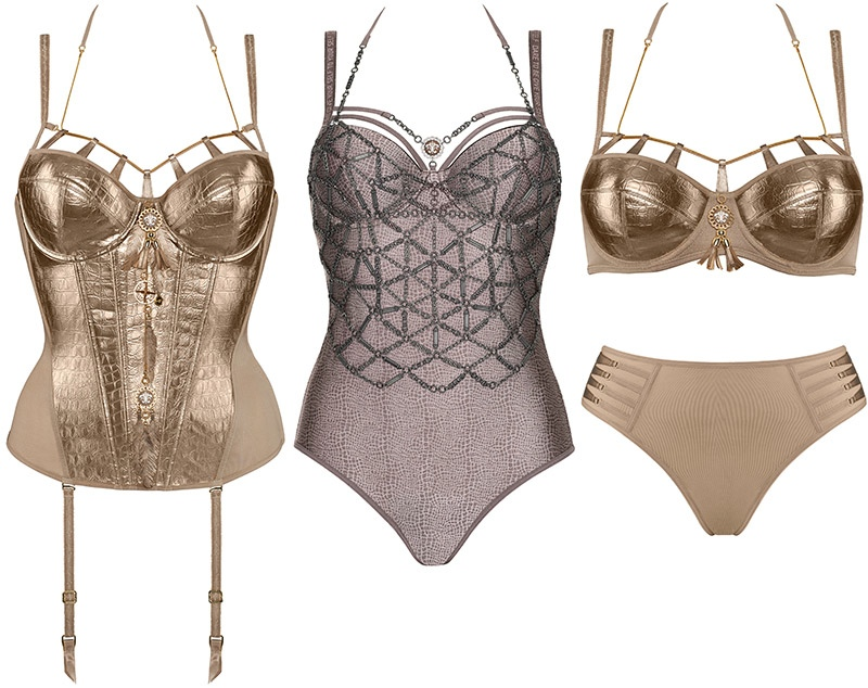Marlies Dekkers Couture Lingerie Joan Arc3 Marlies Dekkers Launches Joan of Arc Influenced Couture Line of Lingerie