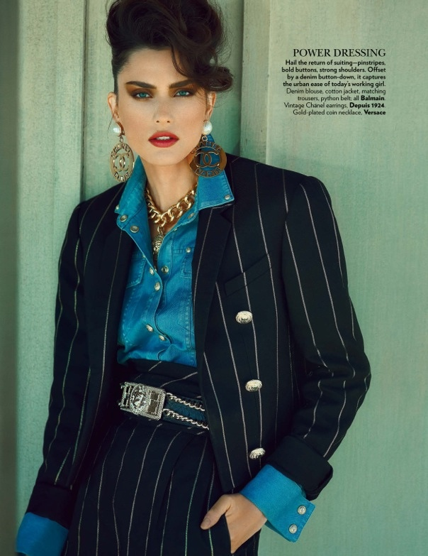 On the Road: Nathalia Novaes in 90s Style for Vogue India by Francesco Carrozzini