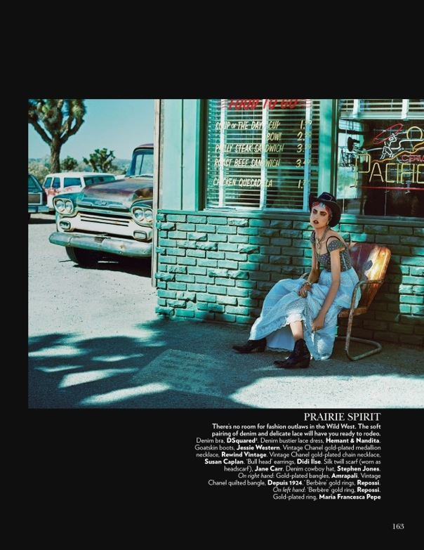 Nathalia Novaes4 On the Road: Nathalia Novaes in 90s Style for Vogue India by Francesco Carrozzini