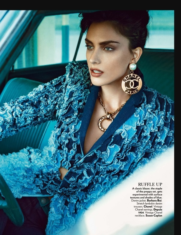 Nathalia Novaes7 On the Road: Nathalia Novaes in 90s Style for Vogue India by Francesco Carrozzini