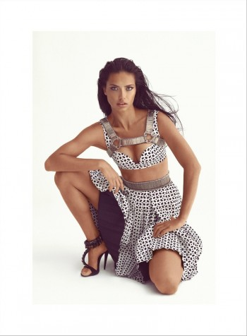 Adriana Lima is Absolutely Flawless in Vogue Turkey Feature