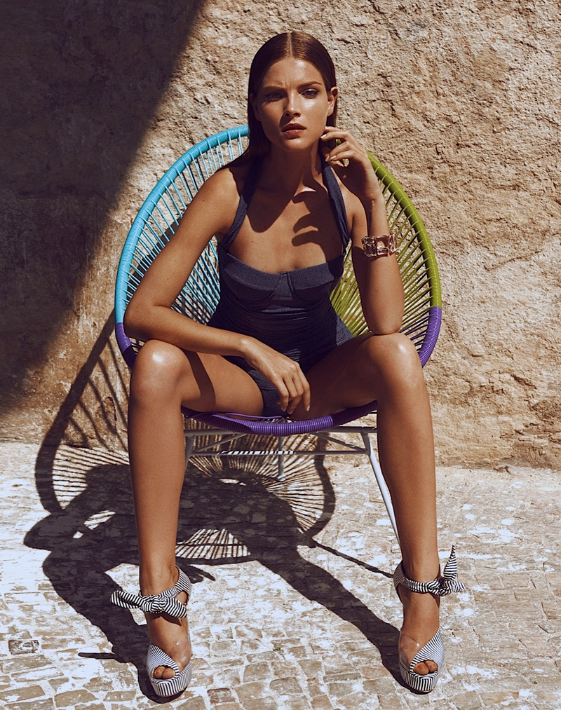 alexander neumann photographer6 Mayara Rubik Sports Summer Style for Vogue Mexico by Alexander Neumann