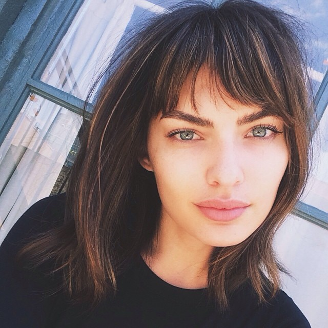 alyssa bangs Instagram Photos of the Week | Candice Swanepoel, Toni Garrn + More Models