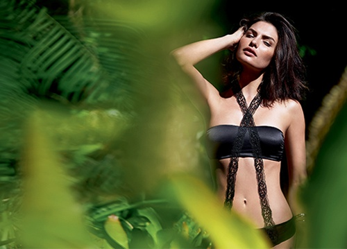 alyssa miller intimissimi lingerie photos3 Alyssa Miller Goes Natural for Intimissimi Lingerie Summer Shoot