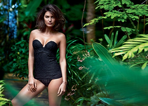 alyssa miller intimissimi lingerie photos4 Alyssa Miller Goes Natural for Intimissimi Lingerie Summer Shoot
