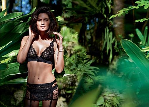 Alyssa Miller Goes Natural for Intimissimi Lingerie Summer Shoot