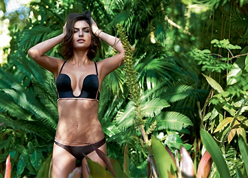 alyssa miller intimissimi lingerie photos7 Alyssa Miller Goes Natural for Intimissimi Lingerie Summer Shoot