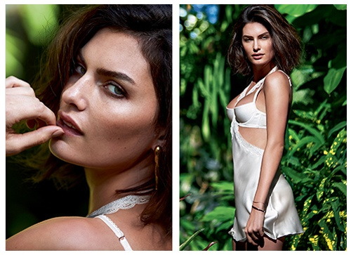alyssa miller intimissimi lingerie photos9 Alyssa Miller Goes Natural for Intimissimi Lingerie Summer Shoot