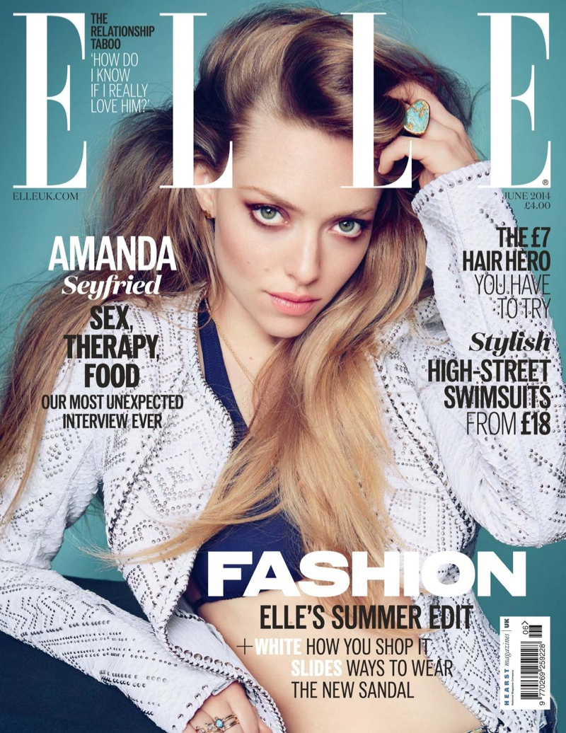 amanda seyfried kai z feng5 Amanda Seyfried in Elle UK, Says She Doesnt Need to Look Like a Supermodel