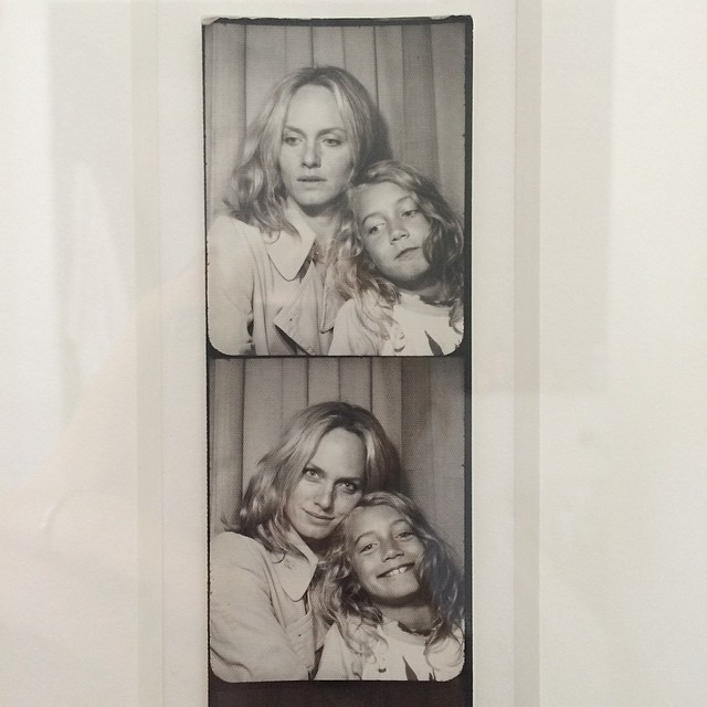 Amber Valletta shares a photo with her son Auden