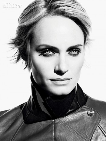 Amber Valletta Cuts Her Hair for Allure Cover Shoot