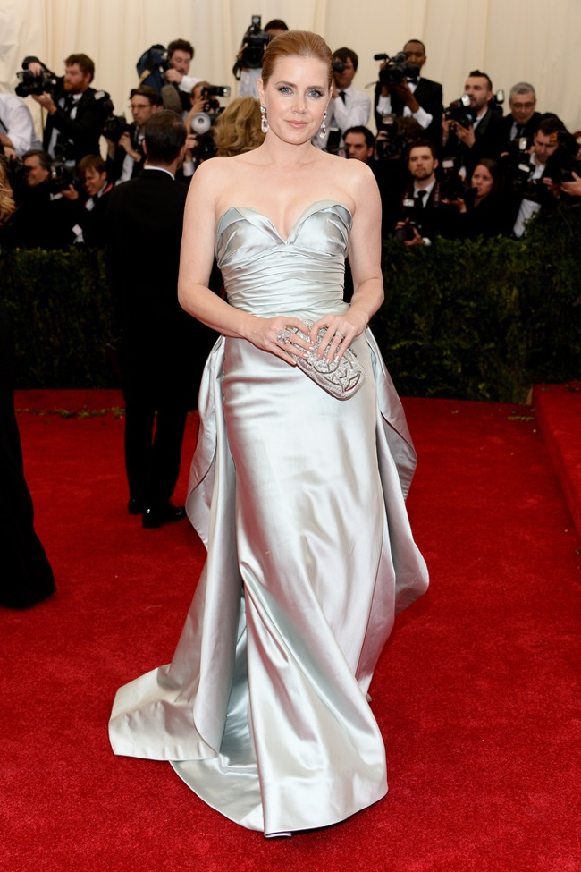 amy adams met gala 2014 2014 Met Gala Red Carpet Looks