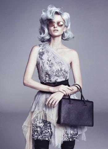 Going Gray: Annabella Barber Poses for FASHIONTREND Australia Spread