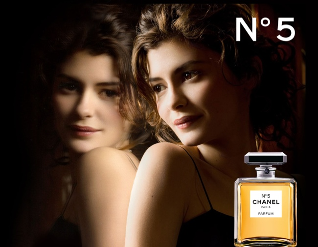 audrey tatou chanel no 5 TBT | Five Chanel No. 5 Campaigns   From Brad Pitt to Nicole Kidman