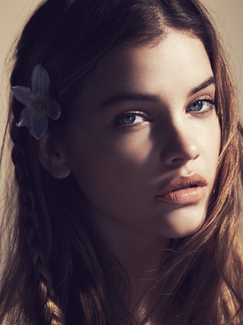 barbara palvin beauty photos2 Floral Flush: Barbara Palvin Wows in Spring Looks for Marie Claire France