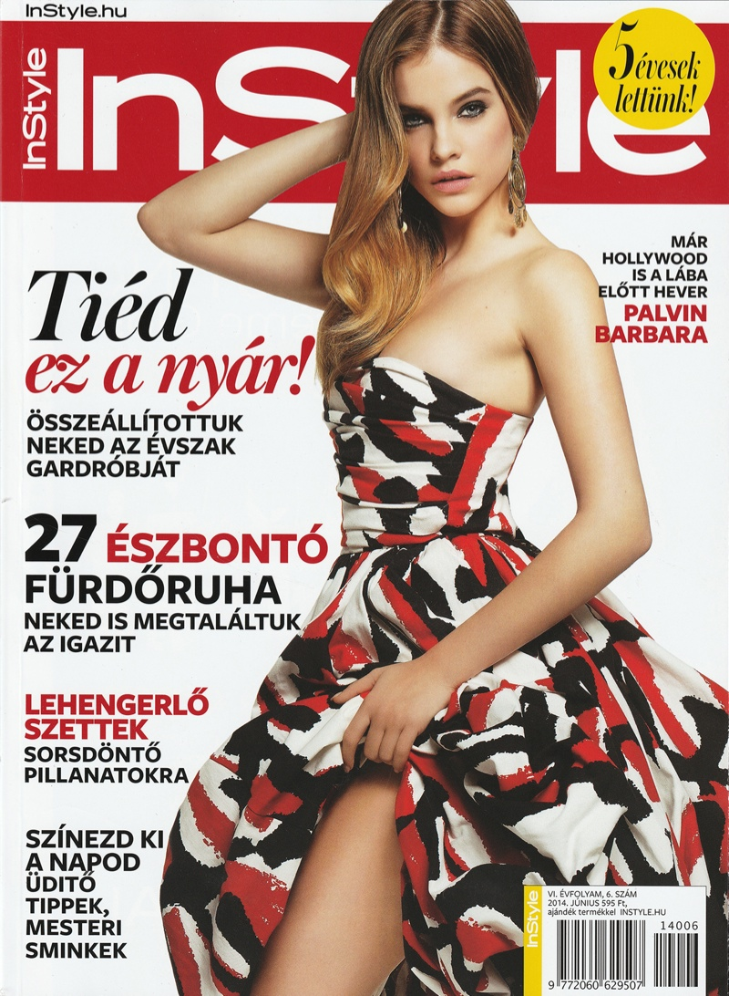 barbara palvin hungary shoot10 Barbara Palvin Rocks Curly Hair for InStyle Hungary Cover Story