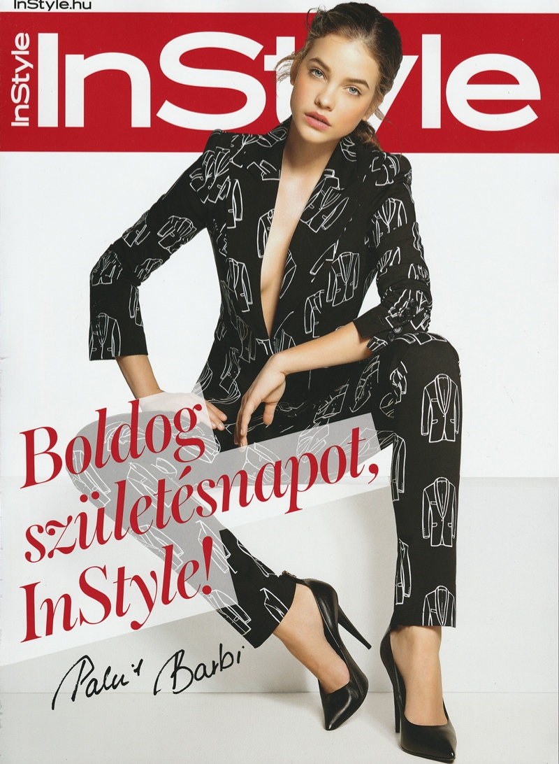 barbara palvin hungary shoot11 Barbara Palvin Rocks Curly Hair for InStyle Hungary Cover Story