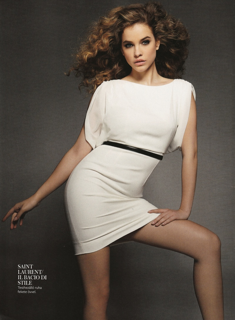Barbara Palvin Rocks Curly Hair For Instyle Hungary Cover