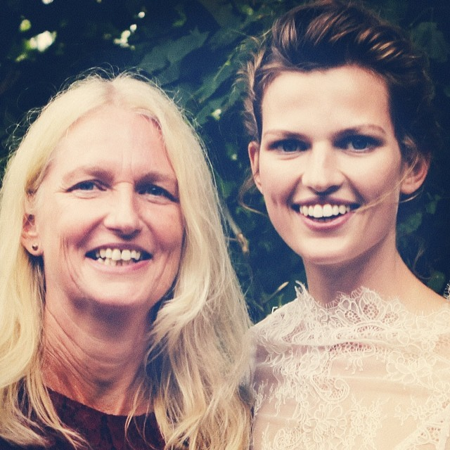 Bette Franke shares photo with her mom to her followers