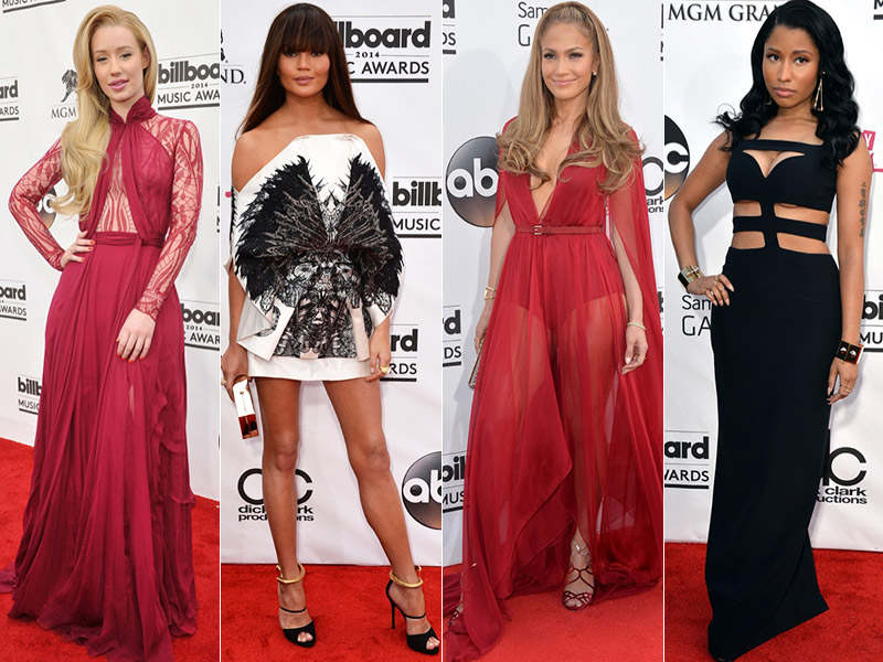 billboard awards style carpet 2014 Billboard Music Awards Red Carpet Style